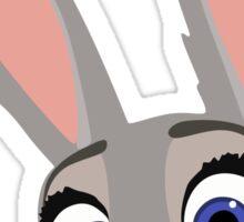 Judy Hopps Q Sticker