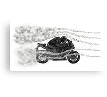 Avoid traffic jam Canvas Print