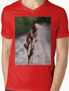 Grass Mens V-Neck T-Shirt