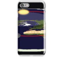 Is the earth flat flat earth iPhone Case/Skin