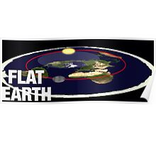 Is the earth flat flat earth Poster