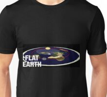 Is the earth flat flat earth Unisex T-Shirt