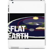 Is the earth flat flat earth iPad Case/Skin