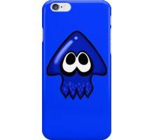 Splatoon Squid Blue  iPhone Case/Skin