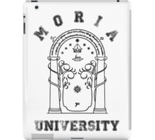 J. R. R. Tolkien - The Lord Of The Rings - Moria University iPad Case/Skin