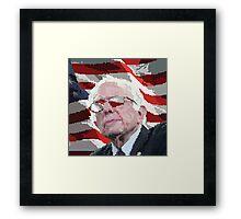 Bernie Eyes for America Framed Print