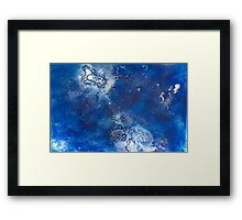 Blue Water Jelly 1 Framed Print