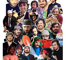 "Brian ""Q"" Quinn collage (Graphic Tee) by LauraWoollin"