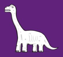 Cartoon Brachiosaurus by Siegeworks .