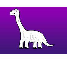 Cartoon Brachiosaurus Photographic Print