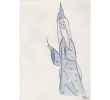 Wise Wizard Photographic Print
