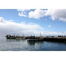 Boats at Harbour Photographic Print