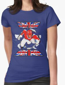 Captain Britain Womens Fitted T-Shirt