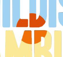 Childish Gambino Cover Design Sticker