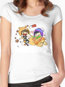 Phan Digital Art  Women's Fitted Scoop T-Shirt