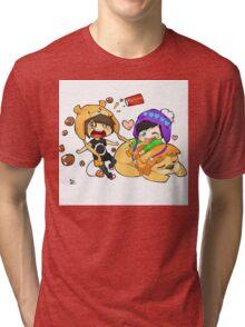 Phan Digital Art  Tri-blend T-Shirt