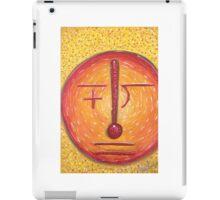 Math Man iPad Case/Skin