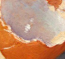 Broken Egg Shell: Original Painting Sticker