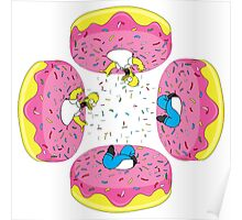 Funny Donuts Poster