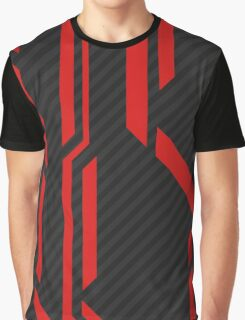CSGO | Redline Pattern Graphic T-Shirt
