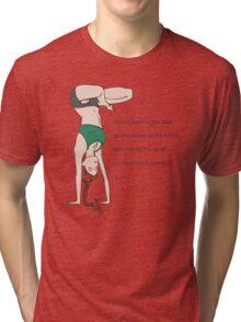 Yoga Handstand Tri-blend T-Shirt