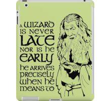 Gandalf Wizard Quote iPad Case/Skin