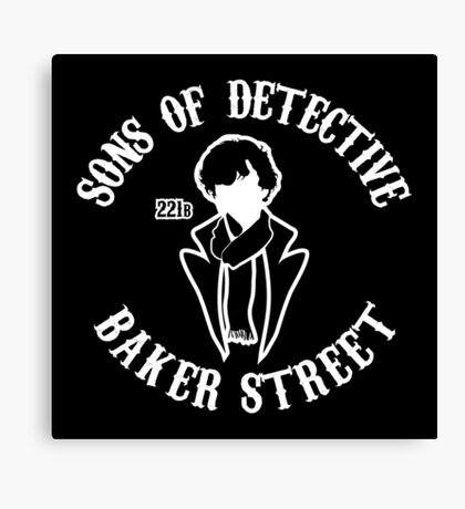 Sons of detective baker street Canvas Print
