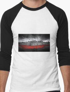 Tower of London Remembers.  Men's Baseball ¾ T-Shirt