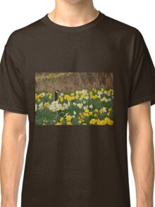 A Goose in the Garden II Classic T-Shirt