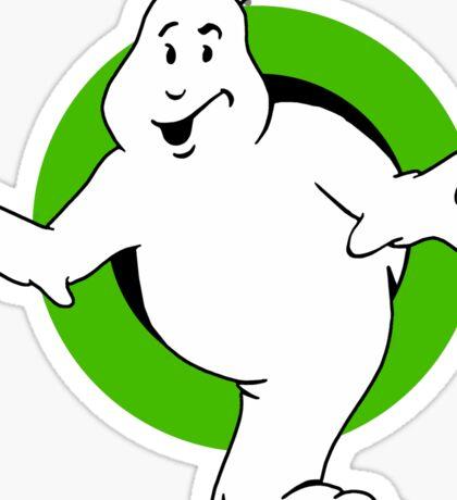 Ghostbuster Buster Sticker