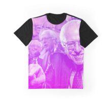 Bernie Sanders - Bernie in Pink Graphic T-Shirt