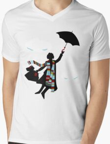 A Spoonful of Sonic Mens V-Neck T-Shirt