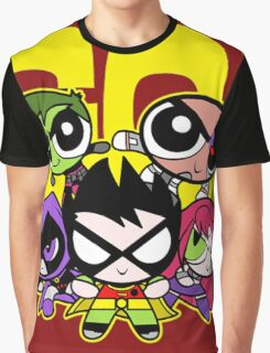 Go Power Puff Girl Graphic T-Shirt