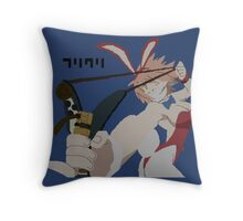 FLCL Haruko Pixelart Throw Pillow