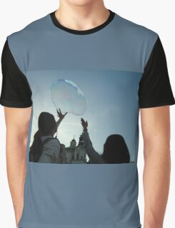 Kids and bubble Graphic T-Shirt