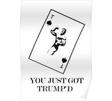 YOU JUST GOT TRUMP'D Poster