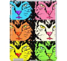 cat faces, Katzengesichter iPad Case/Skin