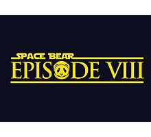 Star Wars Episode VIII 8 Space Bear - Yellow Photographic Print