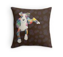 Daisy (a dog of new york) Throw Pillow