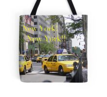 New York! New York!! Tote Bag