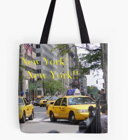 New York! New York!! Tote Bag