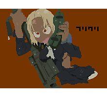 FLCL Kitsurubame pixelart Photographic Print