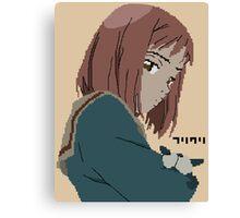 FLCL Mamimi pixelart Canvas Print