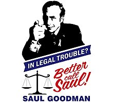 Saul Goodman Photographic Print