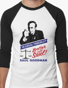 Saul Goodman Men's Baseball ¾ T-Shirt