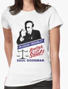 Saul Goodman Womens Fitted T-Shirt