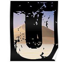 Uncharted 3 U Poster