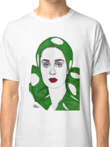 Girl in Green Classic T-Shirt