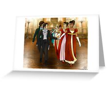 Period AU Levihan Greeting Card