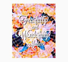 Fearfully and Wonderfully Made Floral Quote Unisex T-Shirt